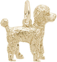 Poodle Charm (Choose Metal) by Rembrandt