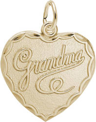 Grandma Charm (Choose Metal) by Rembrandt
