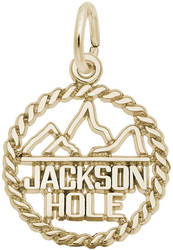 Jackson Hole Twisted Charm (Choose Metal) by Rembrandt
