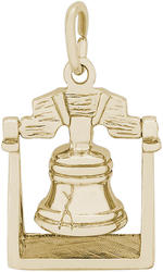 Liberty Bell Charm (Choose Metal) by Rembrandt