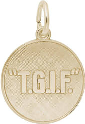 T.G.I.F. Charm (Choose Metal) by Rembrandt