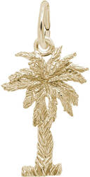 Palmetto 3D Charm (Choose Metal) by Rembrandt