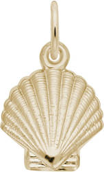Clamshell Charm (Choose Metal) by Rembrandt