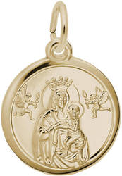 Madonna And Child Charm (Choose Metal) by Rembrandt