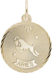 Aries Constellation Charm (Choose Metal) by Rembrandt