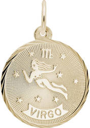 Virgo Constellation Charm (Choose Metal) by Rembrandt