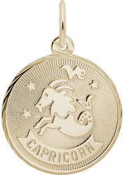 Capricorn Constellation Charm (Choose Metal) by Rembrandt