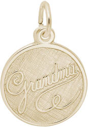 Grandma Medallion Charm (Choose Metal) by Rembrandt