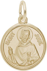 St. Jude Charm (Choose Metal) by Rembrandt