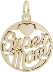 Supermom Charm (Choose Metal) by Rembrandt