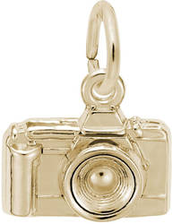 Camera Charm (Choose Metal) by Rembrandt