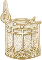 Snare Drum Charm (Choose Metal) by Rembrandt