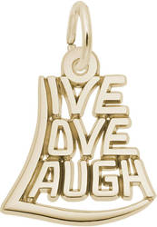 Live, Love, Laugh Charm (Choose Metal) by Rembrandt