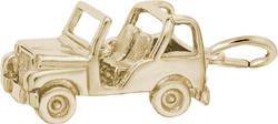 Off Road Vehicle Charm (Choose Metal) by Rembrandt