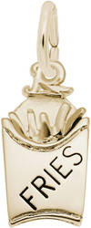French Fries Charm (Choose Metal) by Rembrandt