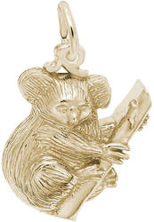 Koala Bear Charm (Choose Metal) by Rembrandt