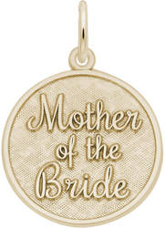Mother Of The Bride Charm (Choose Metal) by Rembrandt