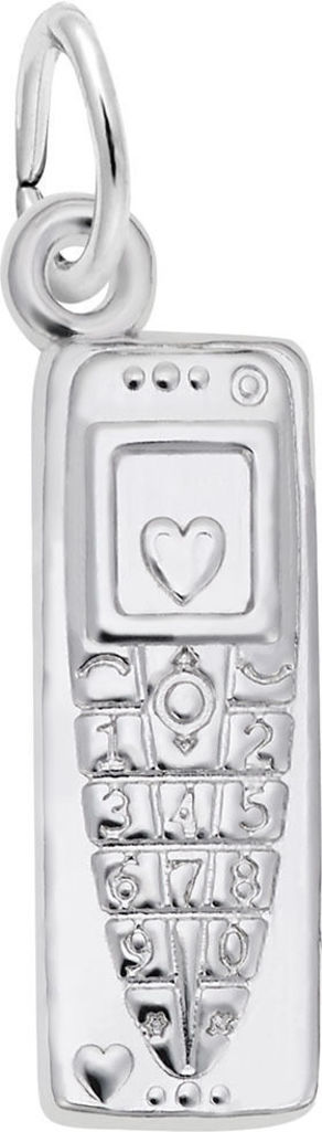 Cell Phone Charm (Choose Metal) by Rembrandt