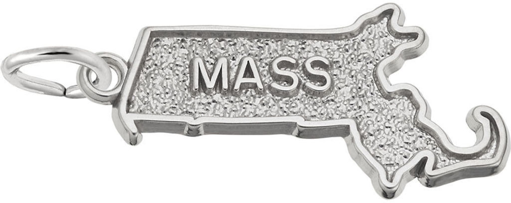 Massachusetts Charm (Choose Metal) by Rembrandt