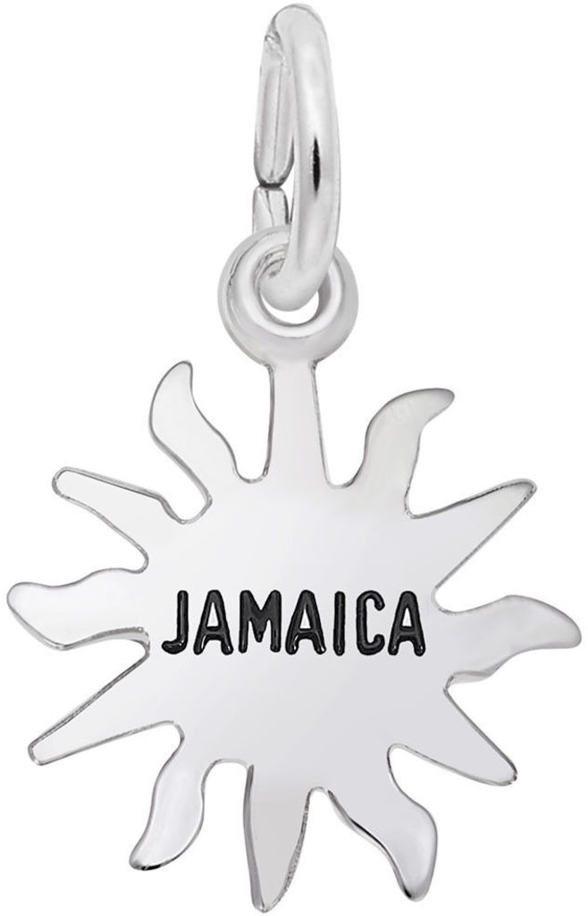 Jamaica Sun Small Charm (Choose Metal) by Rembrandt
