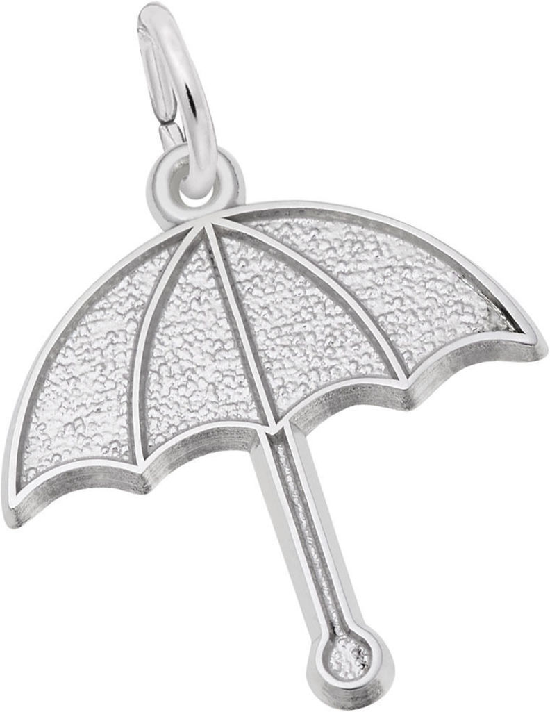 Umbrella Charm (Choose Metal) by Rembrandt