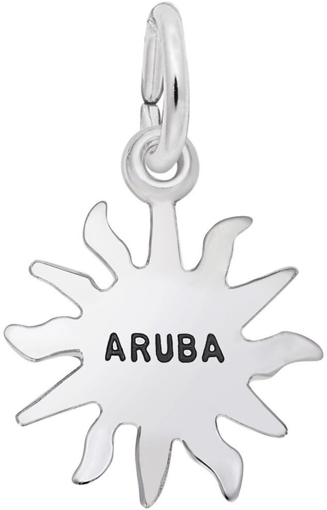 Aruba Sun Small Charm (Choose Metal) by Rembrandt
