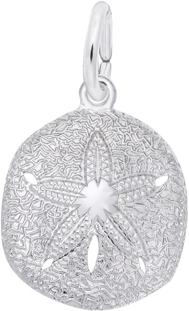 Sand Dollar Charm (Choose Metal) by Rembrandt