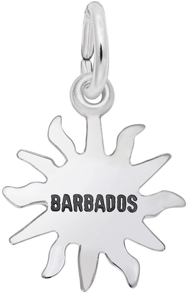 Barbados Sun Small Charm (Choose Metal) by Rembrandt
