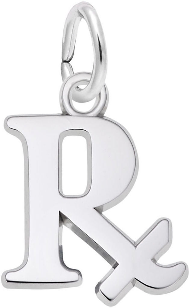 Pharmacy Charm (Choose Metal) by Rembrandt