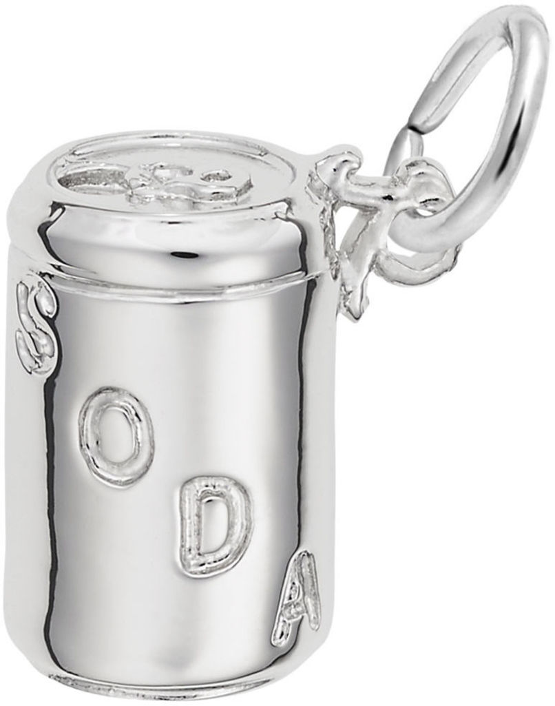 Soda Can Charm (Choose Metal) by Rembrandt