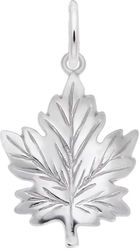 Maple Leaf Charm (Choose Metal) by Rembrandt