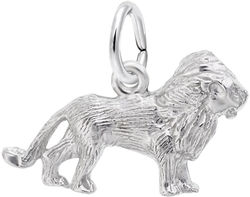 Artistic Lion Charm (Choose Metal) by Rembrandt