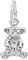 Sitting Bear Charm (Choose Metal) by Rembrandt