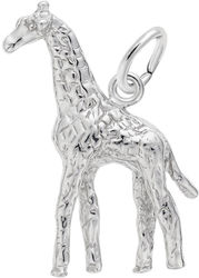 Giraffe Charm (Choose Metal) by Rembrandt