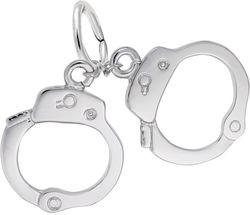 Handcuffs Charm (Choose Metal) by Rembrandt