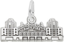 Navy Pier Charm (Choose Metal) by Rembrandt