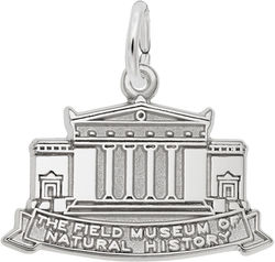 Field Museum of Natural History Charm (Choose Metal) by Rembrandt