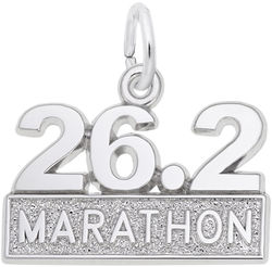 Marathon Charm (Choose Metal) by Rembrandt