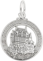 Le Chateau Frontenac Charm (Choose Metal) by Rembrandt