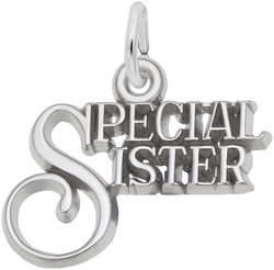 Special Sister Charm (Choose Metal) by Rembrandt