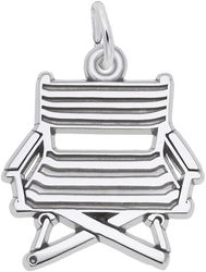 Directors Chair Charm (Choose Metal) by Rembrandt