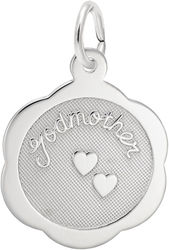 Godmother Charm (Choose Metal) by Rembrandt
