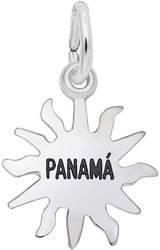 Panama Sun Small Charm (Choose Metal) by Rembrandt