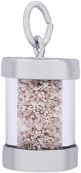 Panama Sand Capsule Charm (Choose Metal) by Rembrandt