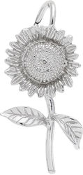 Sunflower Charm (Choose Metal) by Rembrandt