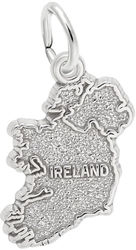Ireland Charm (Choose Metal) by Rembrandt