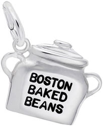 Boston Baked Beans Charm (Choose Metal) by Rembrandt
