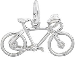 Bicycle Charm (Choose Metal) by Rembrandt