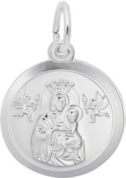 Madonna & Child Charm (Choose Metal) by Rembrandt