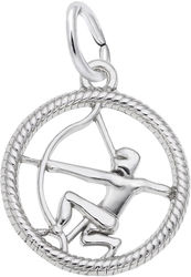 Sagittarius Charm (Choose Metal) by Rembrandt